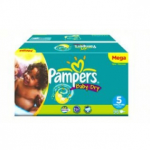Bỉm Pampers Mega Baby-Dry số 5